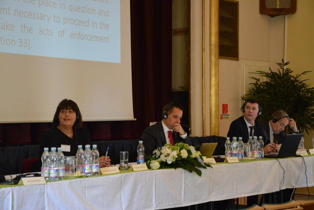 "International Conference in Hungary on ""The Role of the Judicial Officer in the Effective Operation of Justice"""