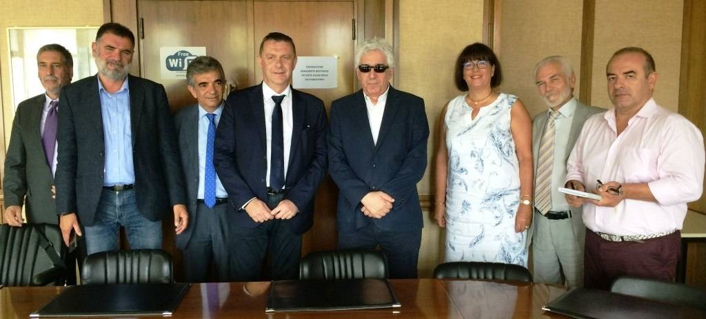 Meeting with the Minister of Justice of Greece in Athens