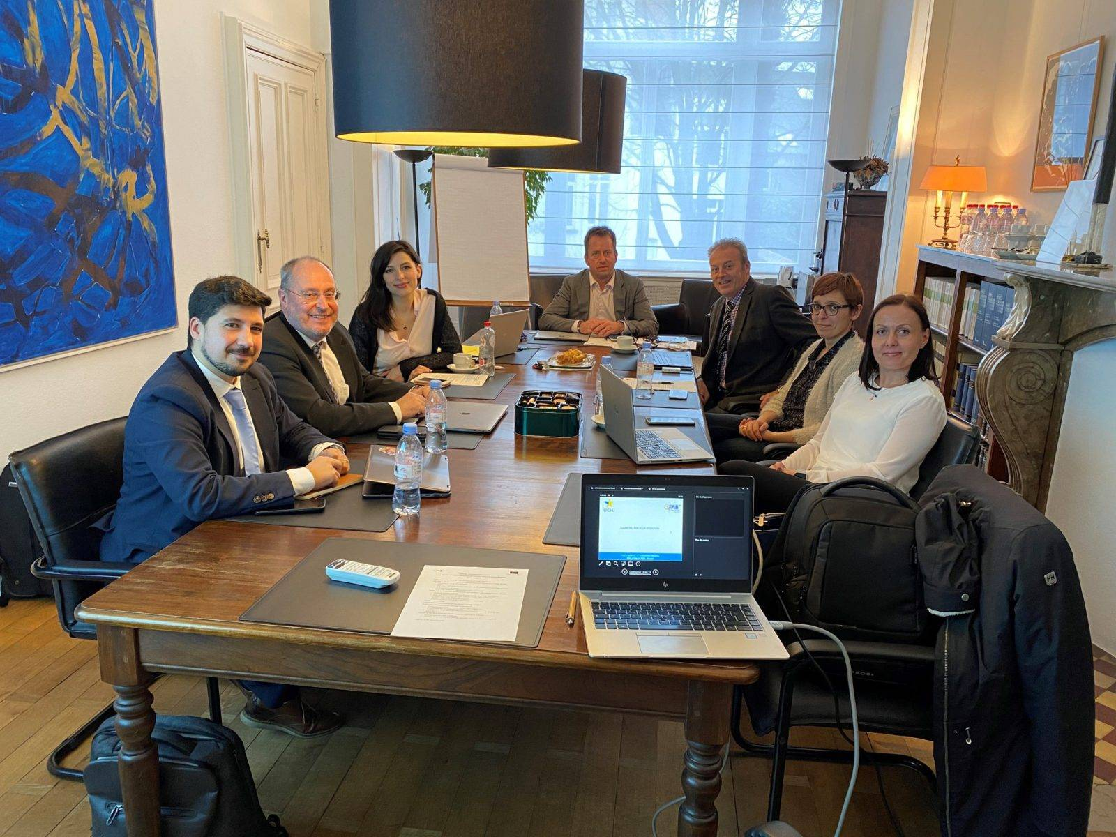 """1ère réunion du consortium du projet européen """"FAB 3"""""""